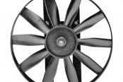 "Flex-a-Lite® - 12"" Auxiliary Electric Fan with Control"
