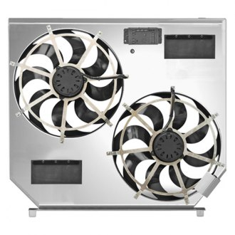 "Flex-a-lite® - 15"" Dual Electric Fan with Aluminum Shroud"