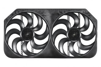 "Flex-a-lite® - 15"" S-Blades Dual Electric Fan"