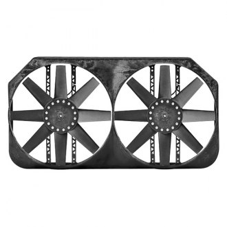 Flex-a-Lite® - Monster Dual Electric Fan with Control