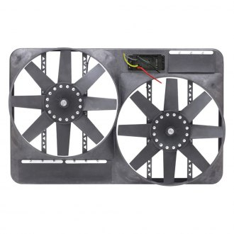 Flex-a-Lite® - Direct Fit Dual Electric Truck Fan