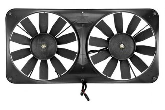 Flex-a-lite® - Compact Dual Electric Fan