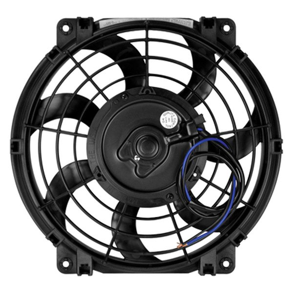 "Flex-a-Lite® - 10"" Trimline S-Blade 12 Volt Electric Fan"