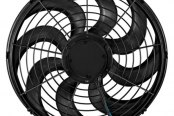 "Flex-a-Lite® - 14"" Trimline S-Blade 24 Volt Electric Fan"