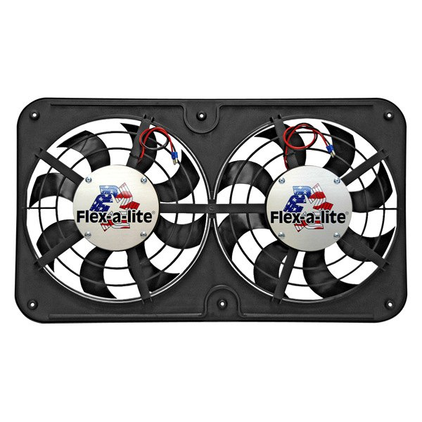 Flex-a-Lite® - Lo-Profile Direct Fit Dual Electric Fan