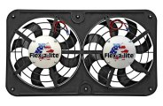 Flex-a-lite® - Lo-Profile S-Blade™ Dual Electric Fan