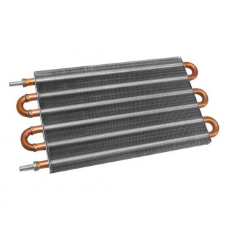 Flex-a-lite® - TransLife™ Transmission Oil Cooler with 0.3750 Barbed Fittings