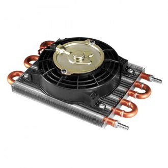 Flex-a-Lite® - TransLife Transmission Oil Cooler with Electric Fan