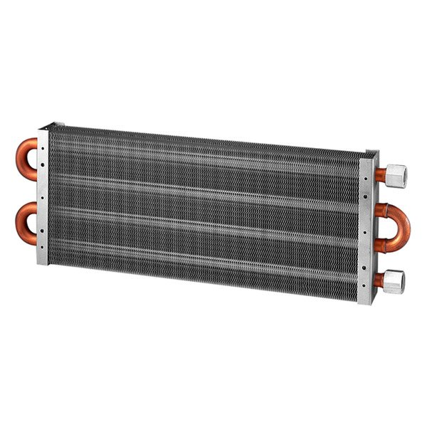"Flex-a-lite® - Silver Heavy Duty Oil Cooler with 1/2"" Female NPT Fitting"