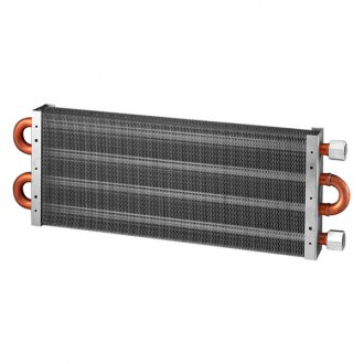 Flex-a-lite® - Silver Heavy Duty Oil Cooler with 1/2 Female NPT Fitting