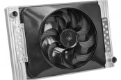 "Flex-a-lite® - 22"" Crossflow Radiator / Fan Combo with Driver Side Inlet"