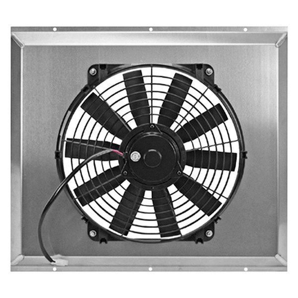 Flex-a-Lite® - Universal Electric Fan with Aluminum Shroud