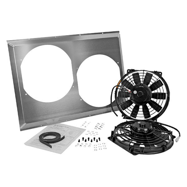 "Flex-a-Lite® - 10"" Dual Electric Fan with Shroud"