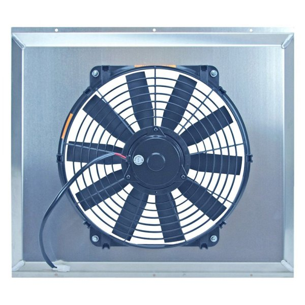 "Flex-a-Lite® - 16"" S-Blade Electric Fan with Aluminum Shroud"
