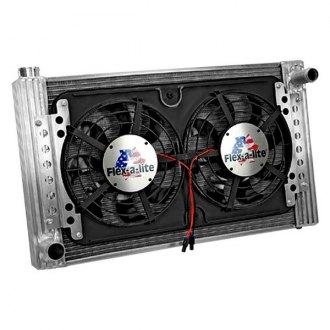Flex-a-Lite® - Direct Fit Standard Profile Crossflow Radiator with Fan