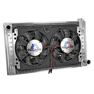 Flex-a-Lite® - Standard Profile Crossflow Radiator with Dual Fan