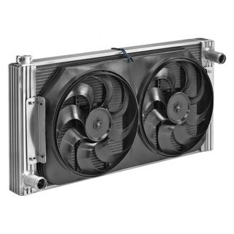Flex-a-Lite® - Standard Profile Crossflow Radiator with Fan