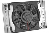"Flex-a-Lite® - 15"" Crossflow Radiator / Fan Combo with Driver Side Inlet"