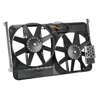 Flex-a-lite® - Black Dual Electric Fan