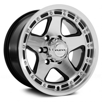 FLEXX OFFROAD® - FX70 Black with Machined Face