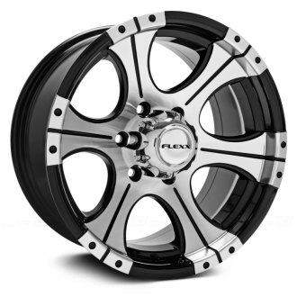 FLEXX OFFROAD® - FX72 Black with Machined Face