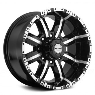 FLEXX OFFROAD® - FX77 Black with Machined Face