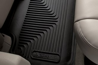 Husky Liners® 53401 - X-Act Contour™ Floor Liners (2nd Row, Black)