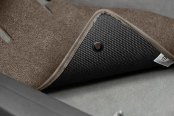 Lloyd® - Classic Loop™ Brown Floor Mat - Backing