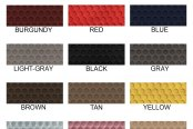 Lloyd® - RubberTite™ Floor Mats Colors