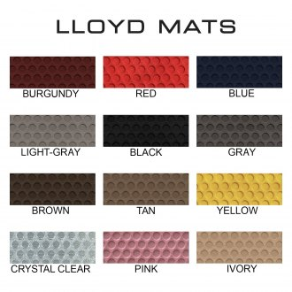 LLOYD� - RubberTite� Floor Mats Colors
