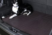 Image may not reflect your exact vehicle! Lloyd® - RubberTite™ Cargo Mat In Use