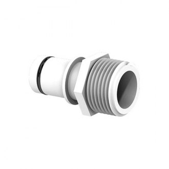 "Flow-Rite® - White 3/4"" Qwik-Lok Male to 3/4"" NSPF Adapter Fitting"