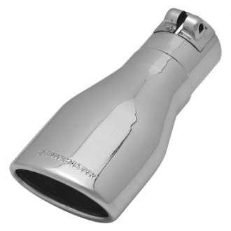 Flowmaster® - Stainless Steel Oval Polished Tip with Embossed Logo