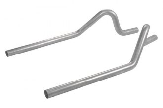 Flowmaster® - Aluminized Steel Prebend Tailpipes - Rear Exit