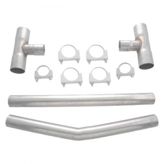 "Flowmaster® - Aluminized Steel Gray Balance H-Pipe Kit (2.5"" Diameter)"