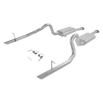 Flowmaster® - Force II™ Aluminized Steel Dual Cat-Back Exhaust System with Dual Rear Exit