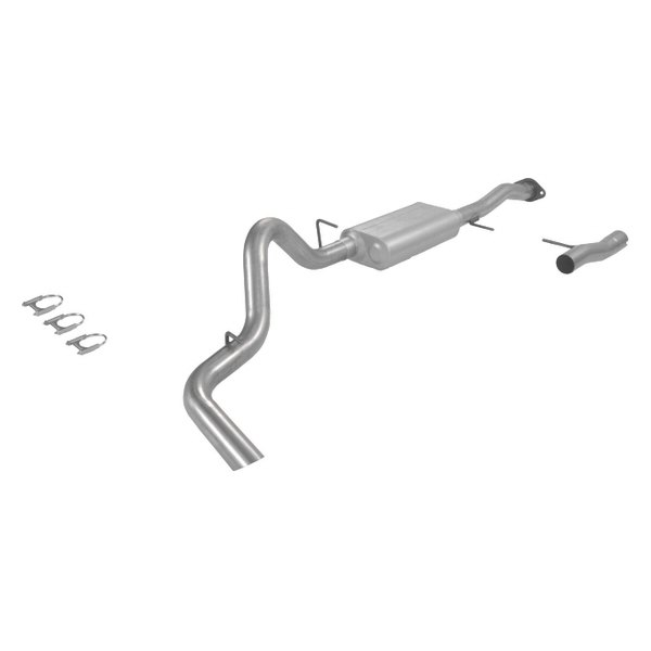 Flowmaster® - American Thunder™ Aluminized Steel Cat-Back Exhaust System (Single Side Exit)