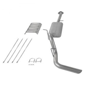 FLOWMASTER� - Force II� Aluminized Steel Cat-Back Exhaust System - Single Side Exit