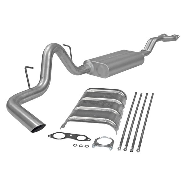 Flowmaster® - Force II™ Aluminized Steel Cat-Back Exhaust System (Single Side Exit)