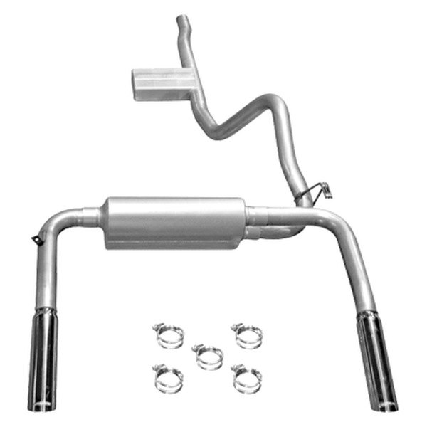 Flowmaster® - American Thunder™ Aluminized Steel Cat-Back Exhaust System (Dual Rear Exit)