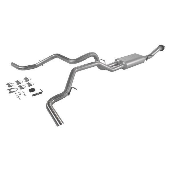Flowmaster® - American Thunder™ Aluminized Steel Cat-Back Exhaust System (Dual Side Exit)