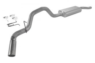 Flowmaster® - Force II™ Aluminized Steel Single Cat-Back Exhaust System