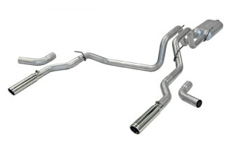 Flowmaster® - American Thunder™ Aluminized Steel Dual Cat-Back Exhaust System