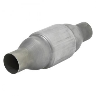 "Flowmaster 2000125 - 200 Series OBDII Stainless Steel Round Catalytic Converter (2.5"" Inlet / 2.5"" Outlet, 12.75"" Length)"