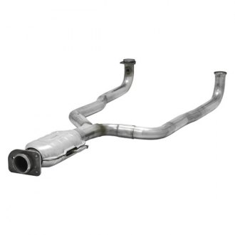 Flowmaster® - Direct Fit Stainless Steel Federal Oval Catalytic Converter with Ceramic Substrate