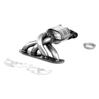 Flowmaster® - Standard Grade Federal Exhaust Manifold with Integrated Catalytic Converter