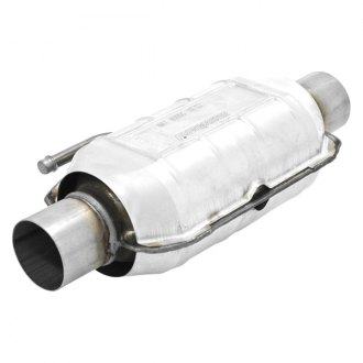 "Flowmaster® - 220 Series Stainless Steel Oval Catalytic Converter (2.25"" Inlet / 2.25"" Outlet, 14"" Length)"