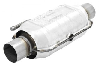 "Flowmaster® 2200124 - 220 Series Stainless Steel Oval Catalytic Converter (2.25"" Inlet / 2.25"" Outlet)"