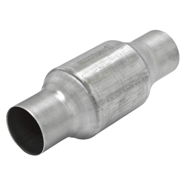 "Flowmaster® - 223 Series Stainless Steel Catalytic Converter (Round, 2.5"" Inlet / 2.5"" Outlet, 10.5"" Length)"