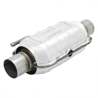 Flowmaster® - 225 Series Stainless Steel Catalytic Converter (Oval, 2 Inlet / 2 Outlet, 16 Length)